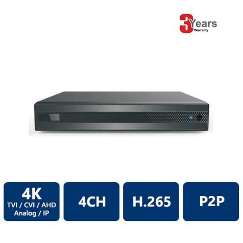4 Channels 4K 5-in-1 HDVR
