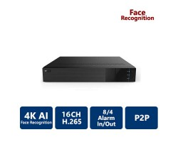 16 Channels 4K Face Recognition NVR