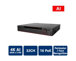32 Channel 1.5U 16PoE AI NVR (Network Video Recorder)