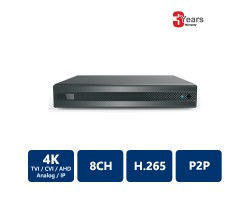 EyeOnet 8 Channels 4K 5-in-1 HDVR