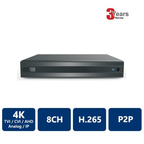 EyeOnet 8 Channels 4K 5-in-1 HDVR