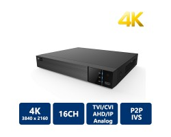 EyeOnet 16 Channels 4K 5-in-1 HDVR