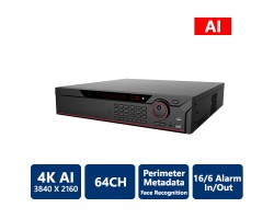 64-Channels AI Network Video Recorder