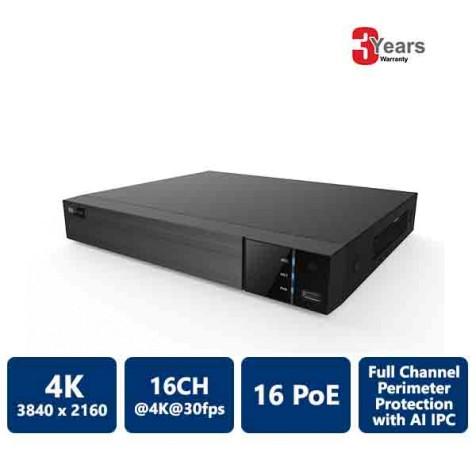 16 Channels 16 PoE 4K EyeOnet NVR