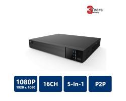 EYEONET HDVR-62116 16CH 1080p 5-In-1 DVR(HDVR-62116)