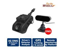 Eyeonwheel 4G telematics AiVision DMS dashcam designed for remote fleet management