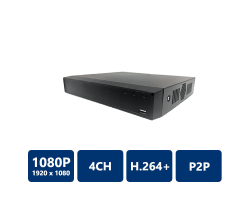 4 Channel Compact 1U Lite Network Video Recorder