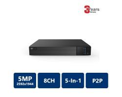 EYEONET HDVR-65108 8CH 5MP 5-In-1 Penta-brid DVR