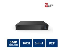 EYEONET HDVR-65216 16CH 5MP 5-In-1 Penta-brid DVR